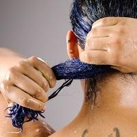 Farget og behandlet hår